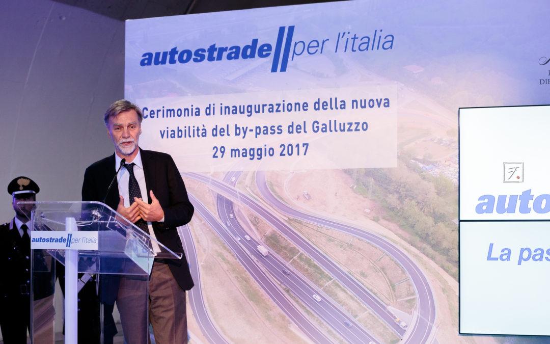Inaugurazione Galleria Autostrada